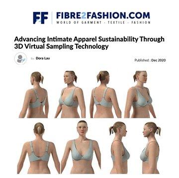 Fibre2Fashion: 3D Virtual Sampling