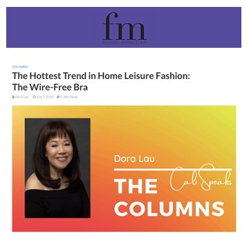 FM: The Hottest Trend in Home Leisure Fashion Wire-Free Bras