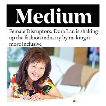 Medium: Dora Lau is a Female Disruptor