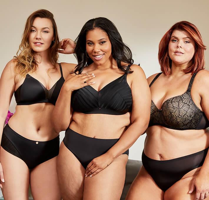black everyday bras
