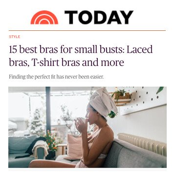 Today: 15 Best Bras for Small Busts: Laced bras, T-shirt bras and more
